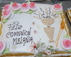 tarta de comunion niña sin figura