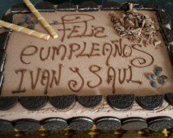tarta de cumpleaños oreo